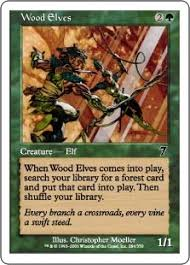 wood elves magic card