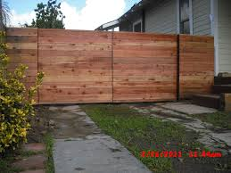 modern fence articles with modern horizontal fence plans tag modern horizontal