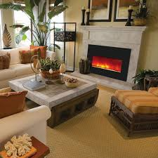Large Electric Fireplace Amantii Large Electric Fireplace Insert With 42x30