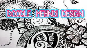 doodle indian doodle indian mehndi design pie bird