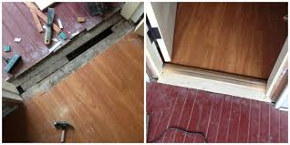 laminate flooring threshold gap