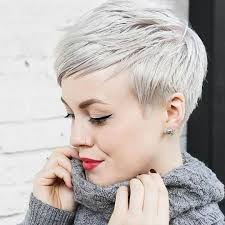 bam beautiful platinum pixie cut by sarahchambray on