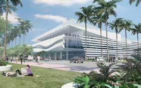 still behind schedule miami beach convention center renovation