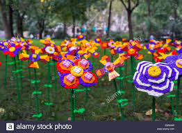 A Garden Of Flowers by A Garden Of Lego Flowers Are Planted In Madison Square Park In New