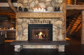 fresh stone fireplace covering 6869