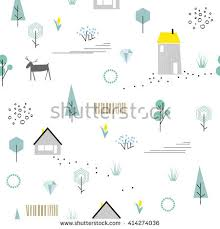geometric seamless pattern 80s 90s fashion stock vector 404033596
