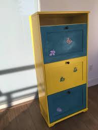 Ikea Shoe Cabinet Painted Ikea Brusali Shoe Cabinet Cabinet Painted Drawer