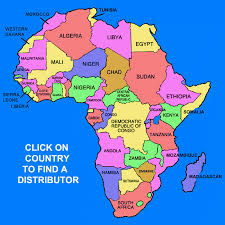 the map of africa africa