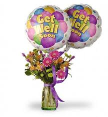 balloon delivery wichita ks get well soon bouquet balloons gift baskets chocolate cookies