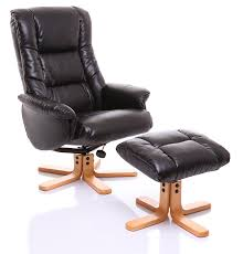 Leather Recliner Chair Uk The Shanghai Bonded Leather Recliner Swivel Chair U0026 Matching