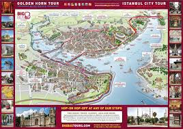 Istanbul Turkey Map Big Bus Istanbul Hop On Hop Off Tour In Turkey Lonely Planet