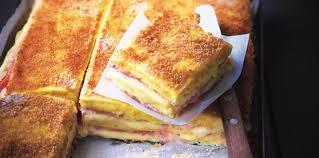 fr recette de cuisine croque monsieur de polenta jambon fromage d eric fréchon facile