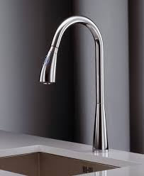 the modern kitchen faucets is minimalist and pure design with