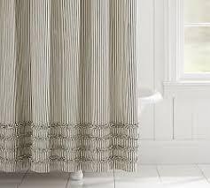Ruffle Shower Curtain Uk - cheap shower curtains uk nautical themed shower curtains uk