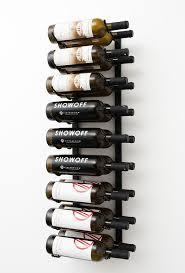 vintageview wall mounted wine racks blue grouse wine cellar