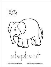 letter coloring book free printable pages