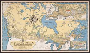 Map Of Canada by Putting Canada On The Map Library Matters