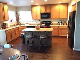 honey oak kitchen cabinets with wood floors advise for honey oak cabinets