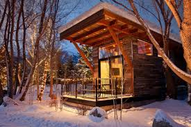the wedge a small cabin on wheels small house bliss