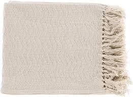 Surya Home Decor Thelma 50 By 60 Inches Woven Cotton Throw Home Decor Surya