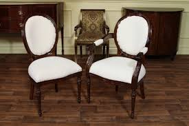 Fabric Chairs For Dining Room by Carving Wood Round Back Chair For Dining Room Set Decofurnish