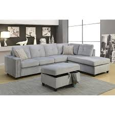 Fabric Sectional Sofa With Recliner by Ottoman Appealing Furniture Small Sleeper Sofa Chairs With