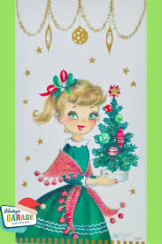 vintage christmas tree vintage christmas cards u2022 vintage garage chicago