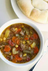 slow cooker vegetable beef soup the two bite club