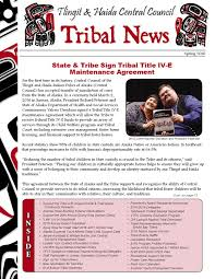 first quarter 2016 tribal news by central council tlingit u0026 haida