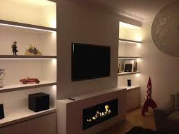 builtin ethanol interior design fireplace slim electric interior