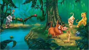 king of backdrops 7x5ft jungles forest lion king play custom photo background studio