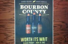 Bourbon County Backyard Rye Goose Island Bourbon County Stout Release Scenes From A Beer