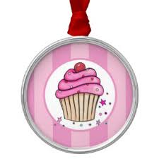 kawaii cupcake ornaments keepsake ornaments zazzle