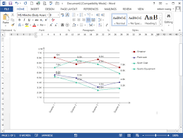Excel Graph Template Line Graph Templates For Word