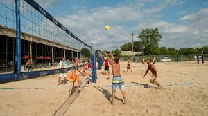 volleyball on the dunes sport