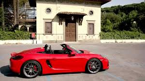 guards red porsche porsche boxster spyder in guards red design automototv youtube