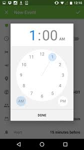 timepicker android time picker on ui inspiration interface materialdesign