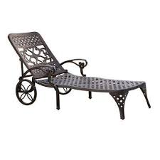 Chaise Lounge With Wheels Outdoor Wheels Outdoor Chaise Lounges Patio Chairs The Home Depot