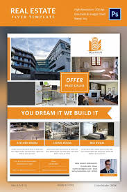 apartment flyer template luxury home real estate flyer template