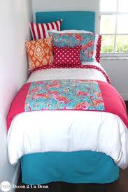 orange teen bedding custom made for girls