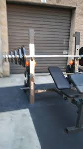 Marcy Bench Press Set Marcy Mwb 2001 Bench Press With Weights For Sale In Montebello