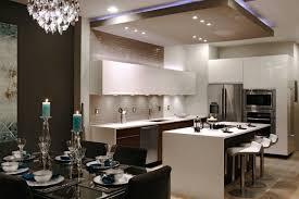 le led cuisine 38 idées originales d éclairage indirect led pour le plafond