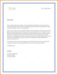 6 thank you letters to after resignation resign letter
