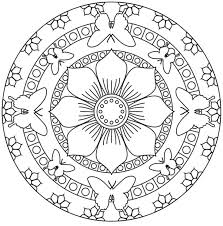 136 mandala coloring pages images coloring