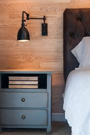 Headboard Wall Mount Hardware by Wall Mounted Bedroom Light Fixtures Using Black Metal Lamp Shade