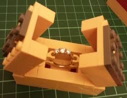 she said yes lego engagement and box