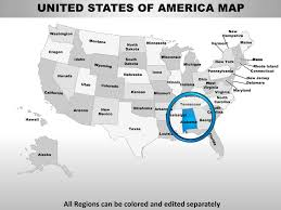 usa alabama state powerpoint county editable ppt maps and templates
