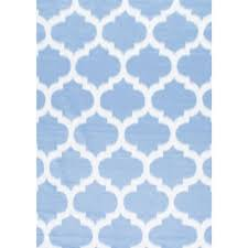 Area Rugs In Blue by Nuloom Faux Sheepskin Shaunna Grey 7 Ft X 9 Ft Area Rug Bibl25d