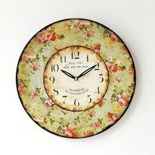 vintage wall clock antique modern european style vintage creative