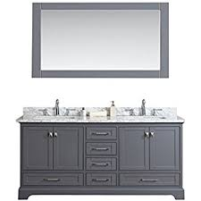 72 bathroom vanity carrara charcoal gray